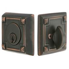 Emtek Art & Craft Deadbolt