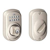 Schlage BE365 Plymouth Electronic Deadbolt