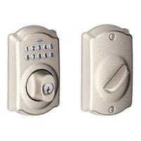 Schlage BE365 Camelot Electronic Deadbolt