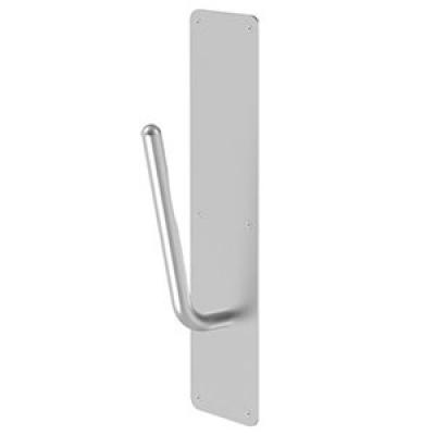 Rockwood non-contact pull handle with plate